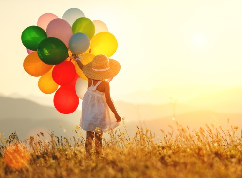 happy life joyful balloons sunset sunrise youthful innocence lifeforce nature.jpg